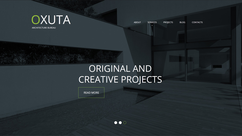 Architecture Website Design