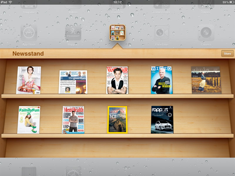 Apple News Stand