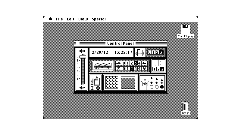 Original Mac Interface