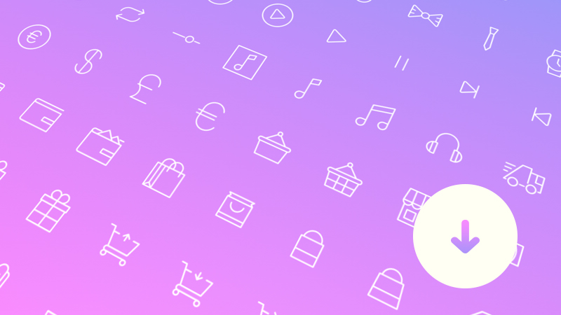 100 Simple and Free Line Icons