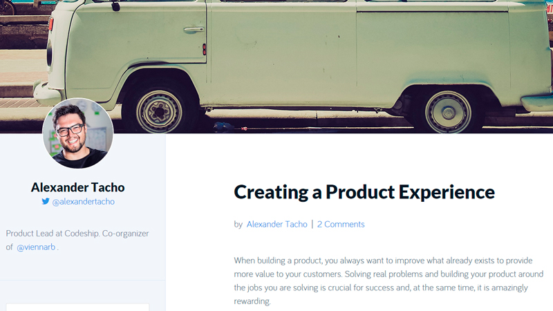 Creating a Product Experience Tutorial