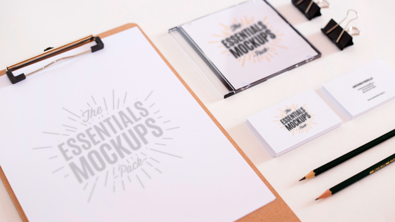 The Essentials Mockup Pack