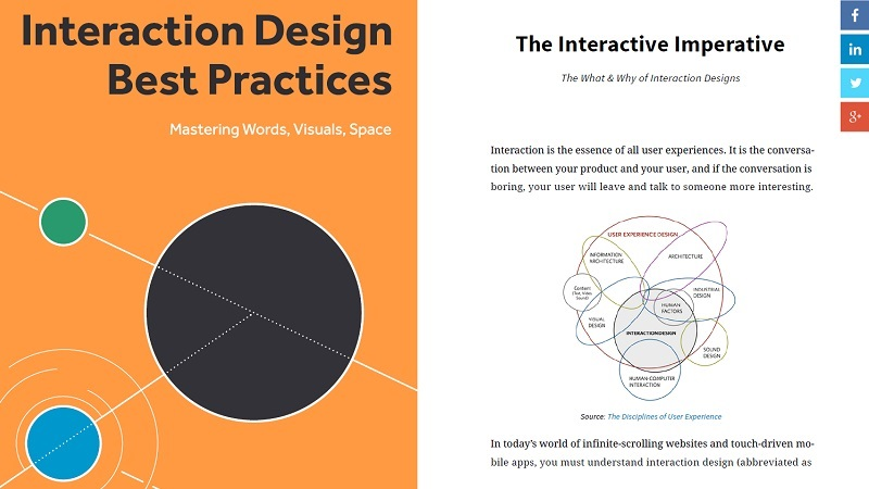 Interaction Design Best Practices: Mastering the Tangibles