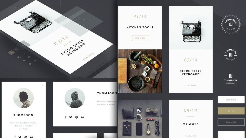 Collection of Fresh Design Freebies – March Edition