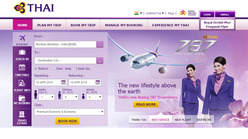 Airline Website Design – The Best Examples