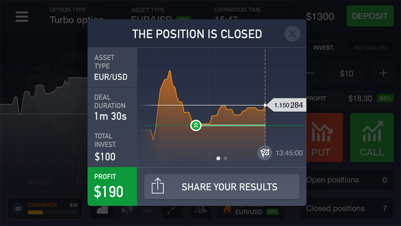 Closed Position