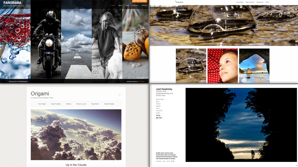 15 Free Responsive WordPress Themes for Photographers and Photo Bloggers