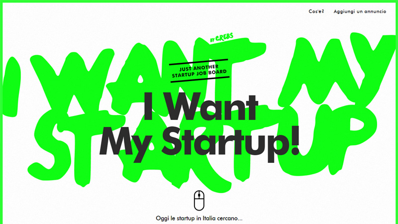 I Want My Startup