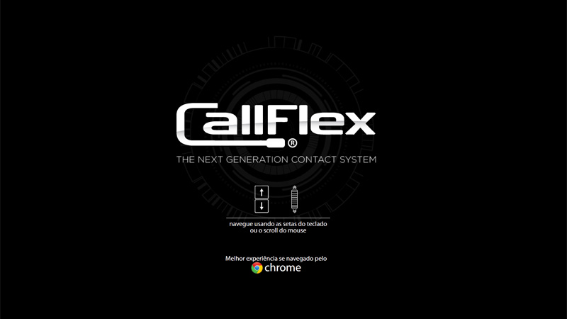 CallFlex Website Navigation