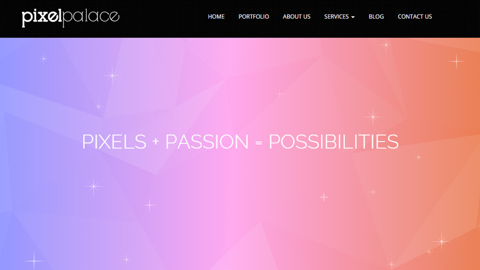 Subtle and Transparent Gorgeous Website Designs with Gradients