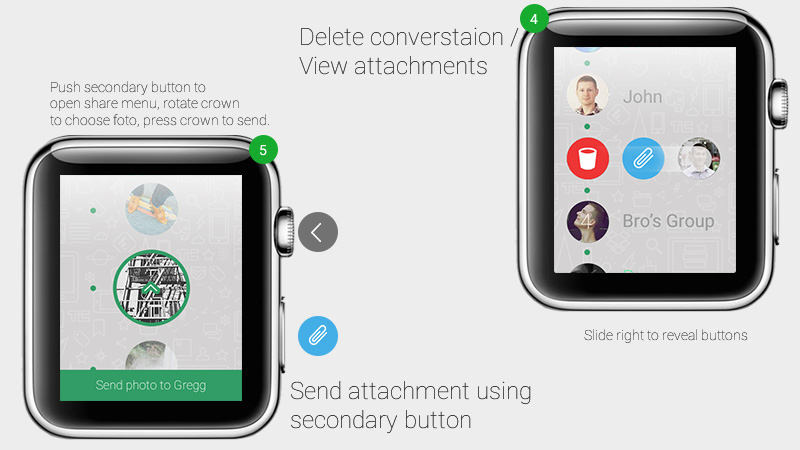 Whatsapp for Apple Watch