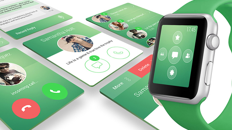 WhatsApp - iWatch Concept