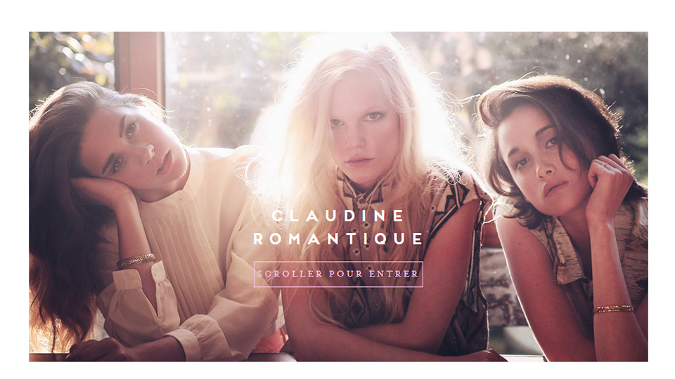 Delicate Yet Powerful Website Designs with A Feminine Touch