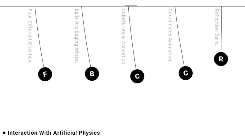Interaction with Artificial Physics