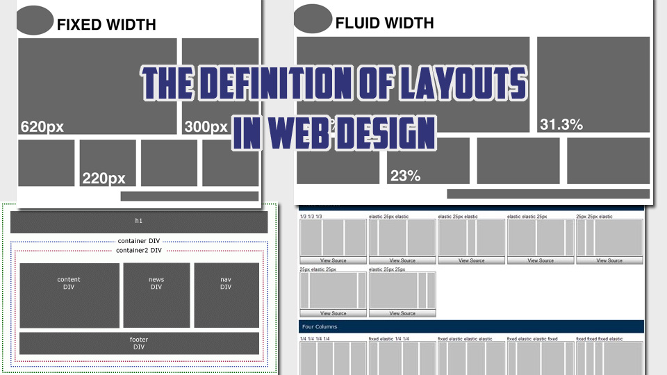 The Definition of Layouts in Web Design and When to Use Them