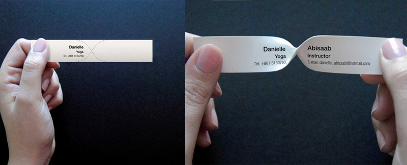 Amazingly Creative Business Cards For Inspiration