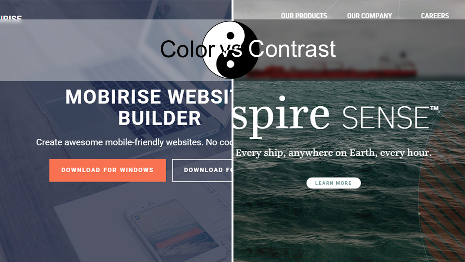 Color vs Contrast: Which One Brings More Conversions