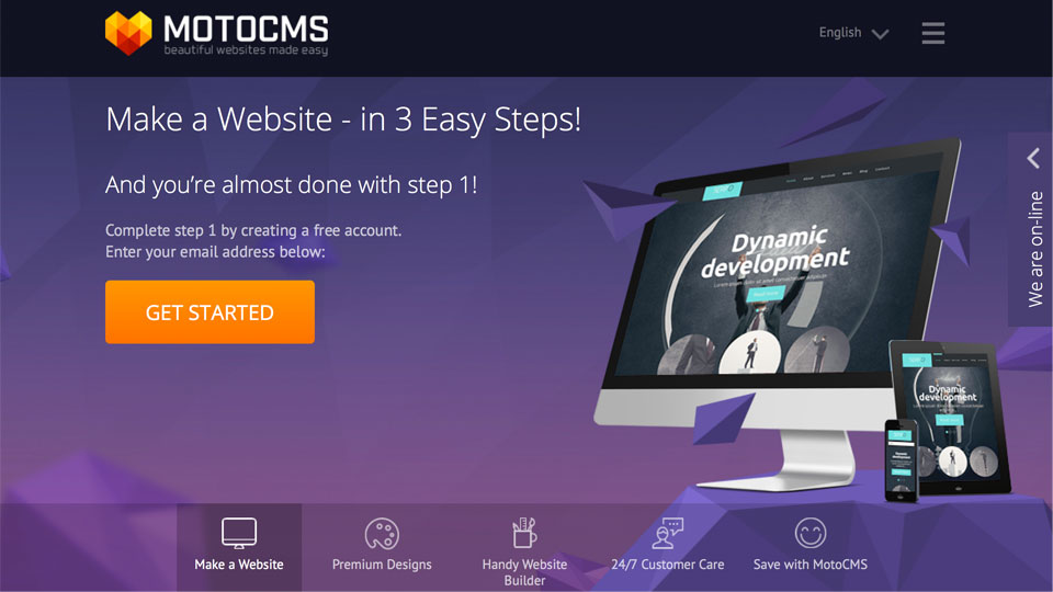 Giveaway: Win a Revolutionary MotoCMS 3 Template of Your Choice