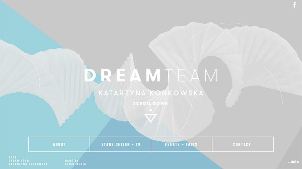 Dynamic Abstract Homepages Fresh Trend