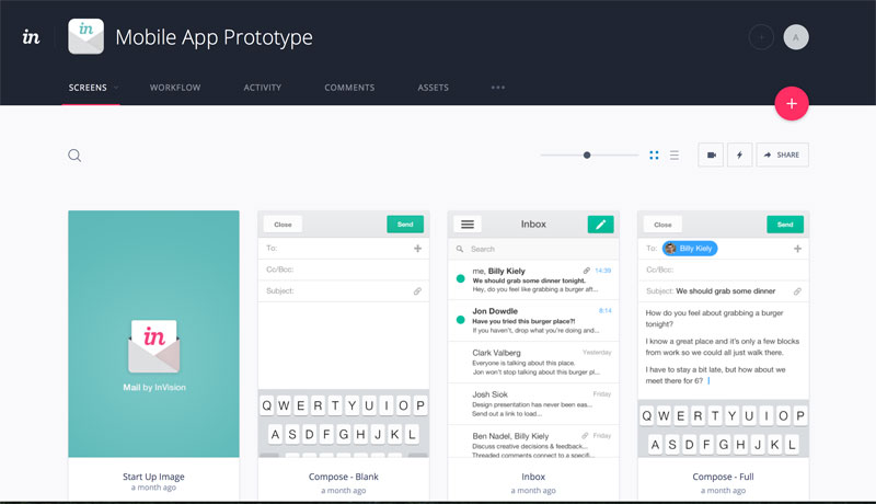 how to create app in invisionapp