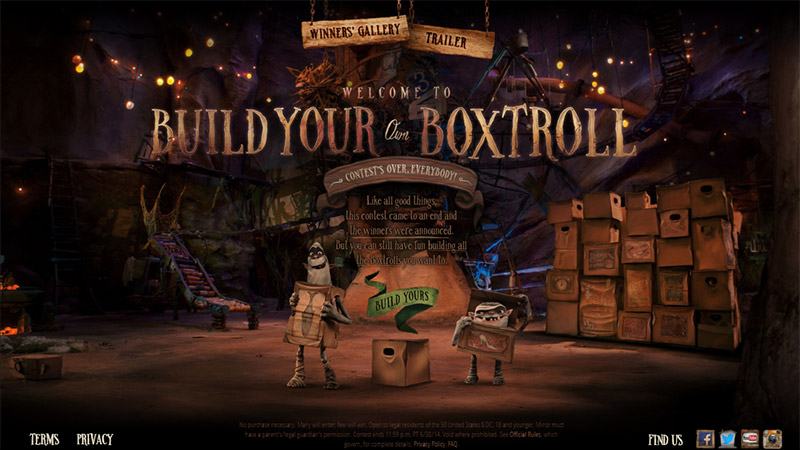Build Your Own Boxtroll