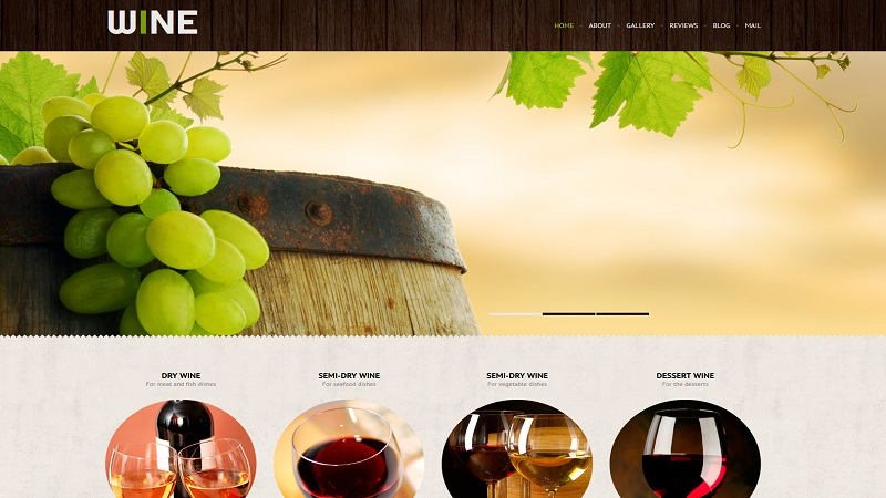 Wine Industry Website Design