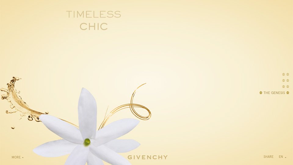 Sheer Elegance – Beauty and Opulence in Web Design
