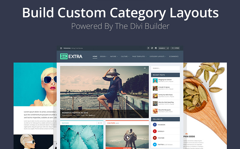 Extra Theme: Elegant Themes\' New, Feature-Filled WordPress Theme