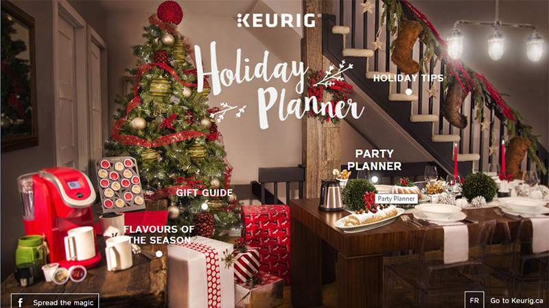 Keurig Holiday Planner