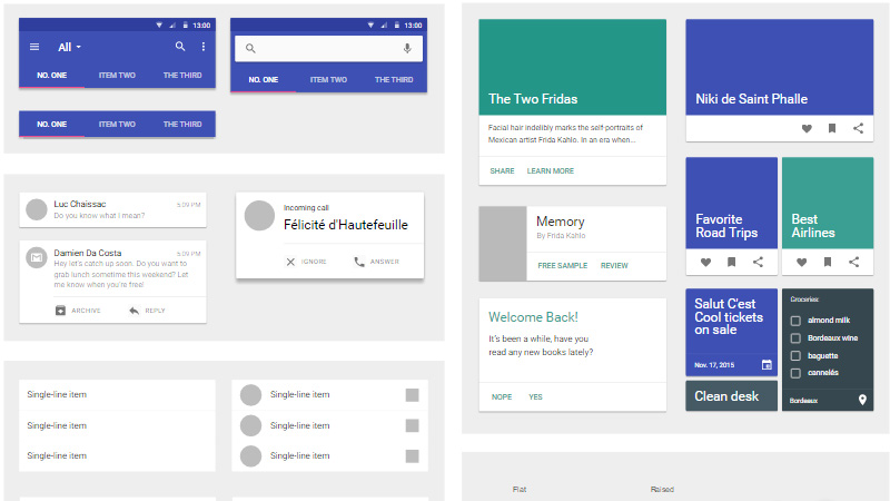 Atomic Material Design Template