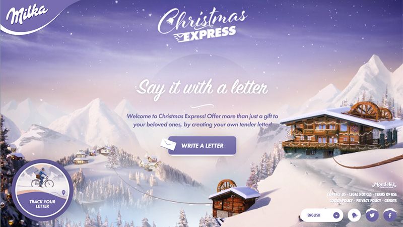 Milka Christmas Express