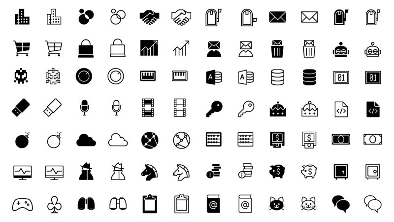 Line Vector Icons