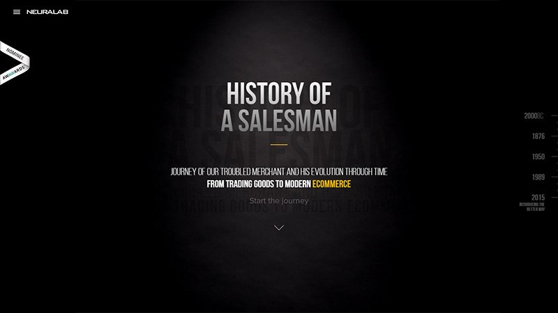 History of a Salesman
