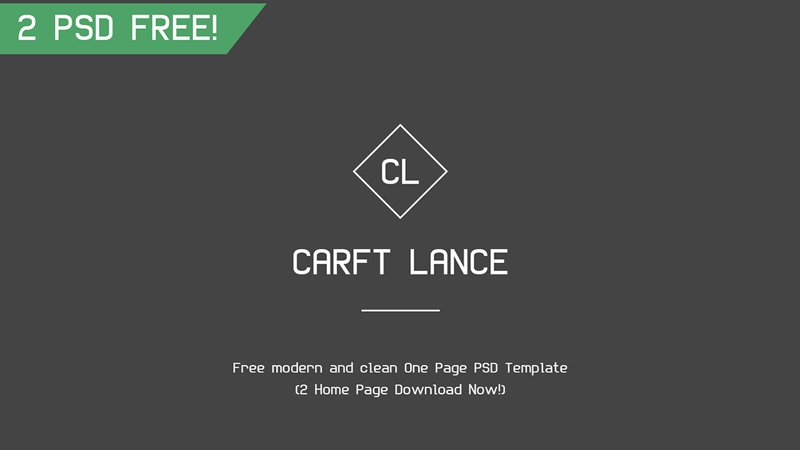 Craft Lance Template