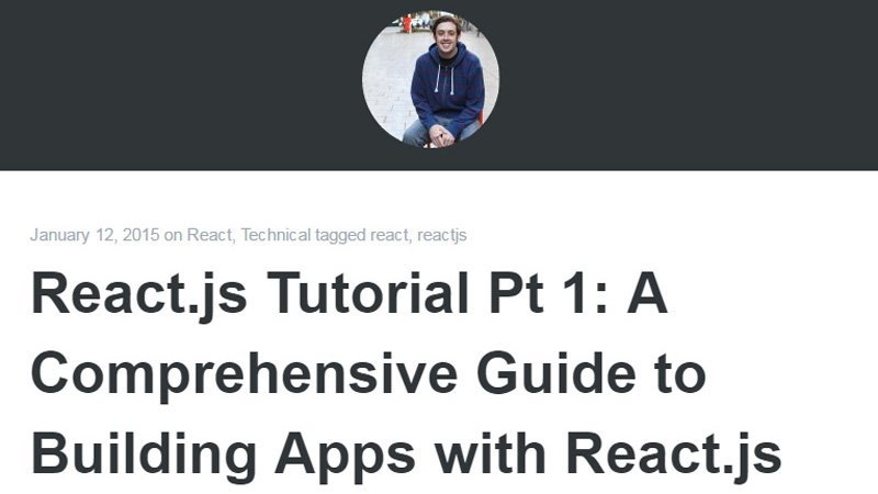 A Comprehensive Guide to Building Apps with React