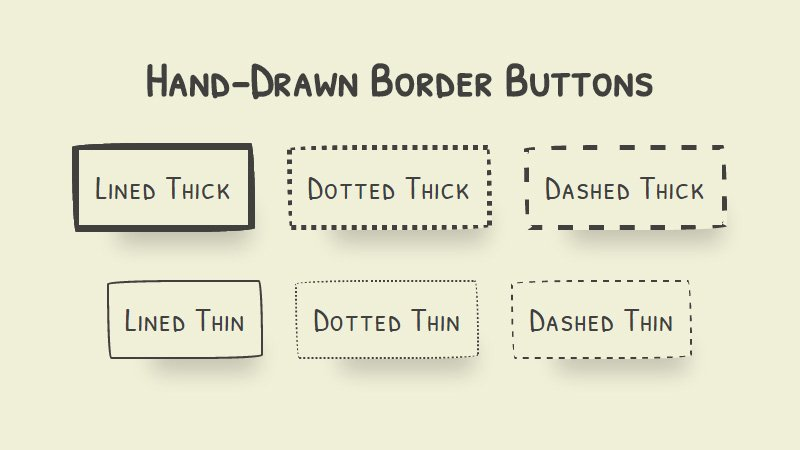 Imperfect Buttons