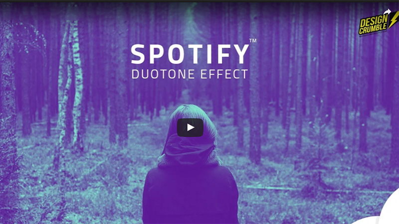 Spotify Duotone Effect in Photoshop
