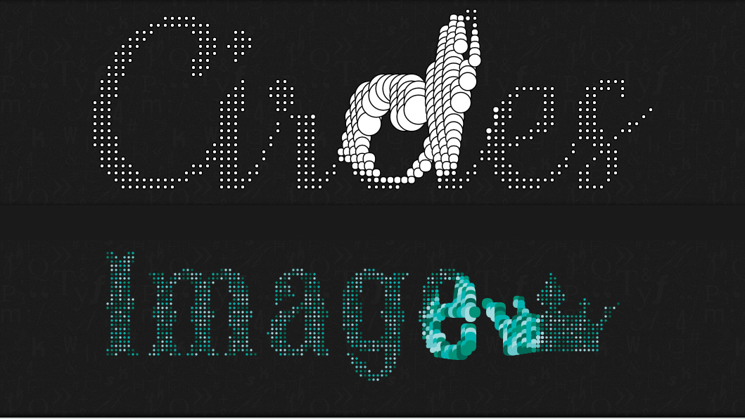 Interactive Typography Effects