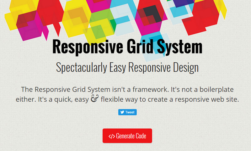 Responsive Grid System