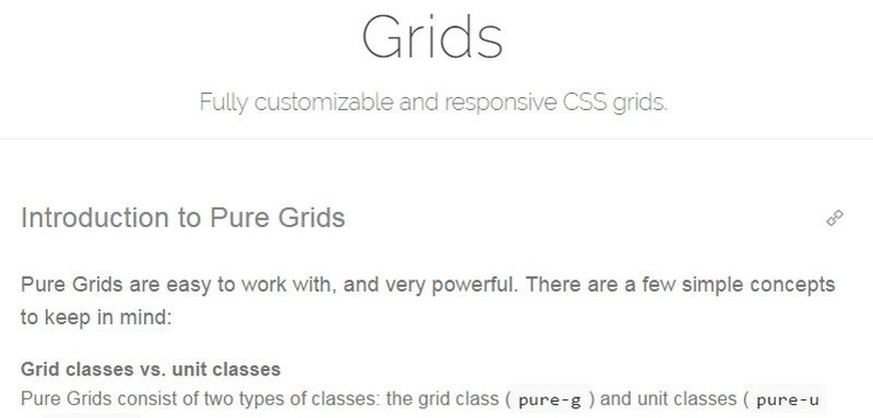 Pure Grids
