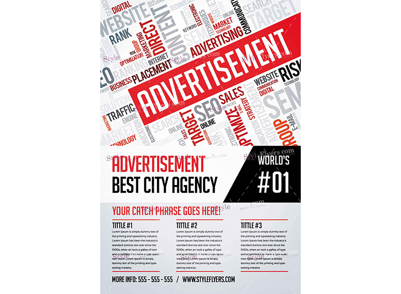 Advertisement Services Template 1