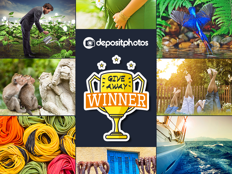 Giveaway: 1 Year Subscription Worth $299 From Depositphotos