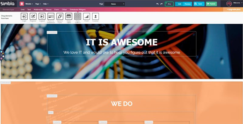 Simbla Website Builder: A Great 2016 Year and More to Expect in 2017