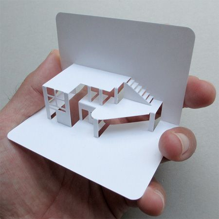 3d pop up business cards