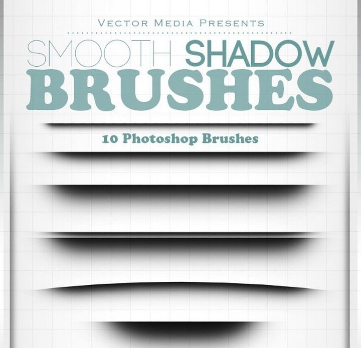 33 remarkable photoshop brushes that you must bookmark 11 smooth shadow photoshop brushes reheart Images