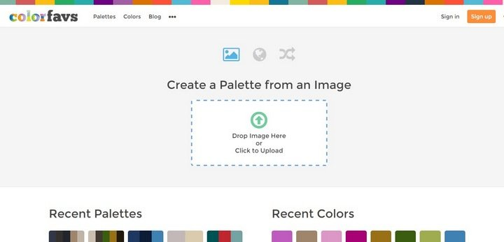 Color Palette Generator Automagically Create A Color Palette From Any Photo | Home Design Idea