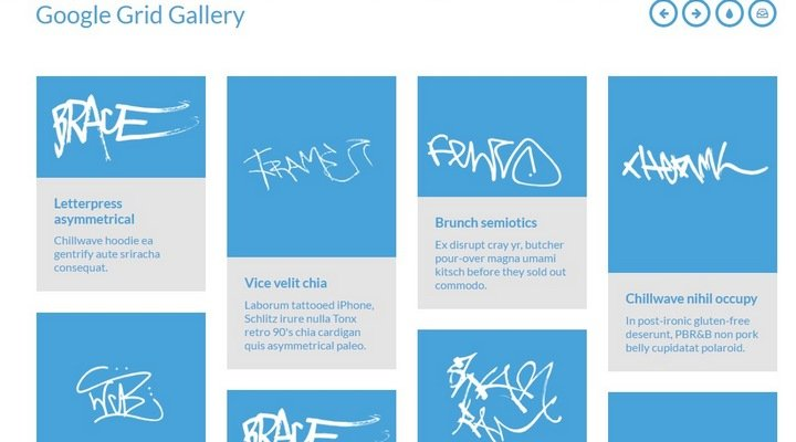 15+ Great jQuery Images Gallery Plugins To Showcase Your