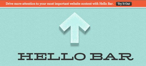 Hello Bar WordPress Plugin