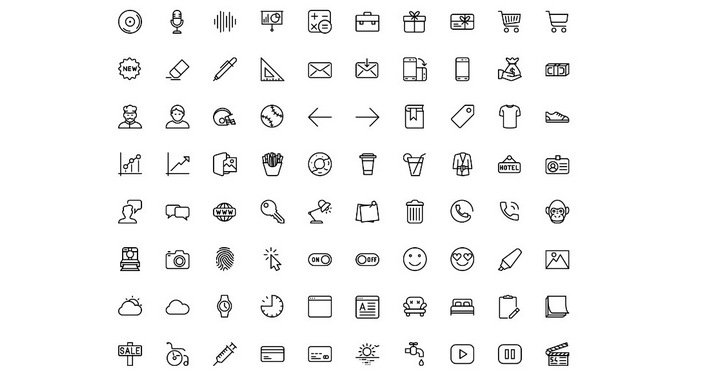 29 Free Stunning Web Icons Sets To Enhance Your Web Design