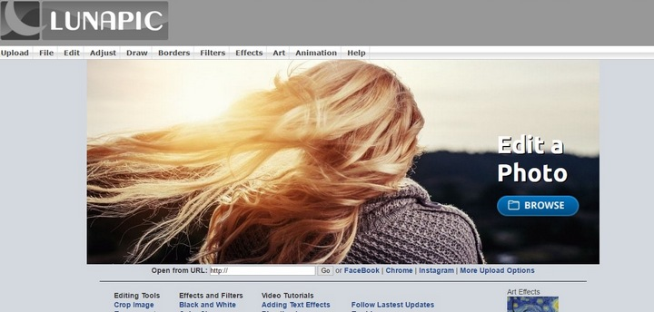26 Cool Online Photo Editors And Image Tools To Entertain Ourselves